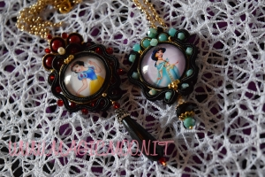 Collana Principessa Disney Soutache