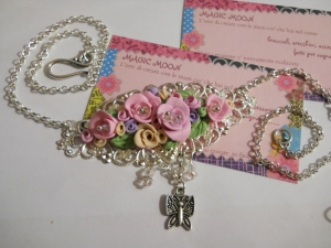 Collana Tripudio di Rose
